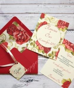Приглашения в конверте