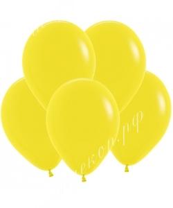"""Шар 12"""" (30 см) (020) желтый матовый"""