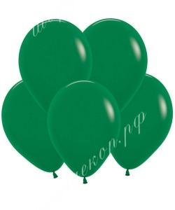 """Шар 12"""" (30 см) (032) темно-зеленый матовый"""
