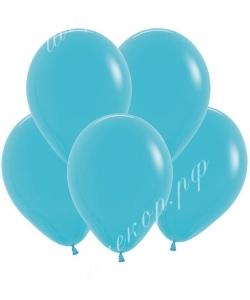 """Шар 12"""" (30 см) (038) синяя бирюза матовый"""
