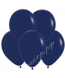 """Шар 12"""" (30 см) (044) темно-синий"""