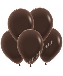 "Шар 12"" (30 см) (076) шоколад матовый"