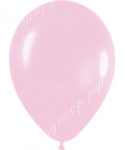 "Шар 12"" (30 см) (609) светло-розовый матовы"