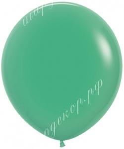 """Шар 18"""" (46 см) (030) зеленый"""