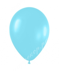 "Шар 12"" (30 см) (438) карибская синева, перламутр"