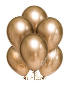Шар (12''/30 см) Золото, хром