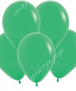 """Шар 12"""" (30 см) (028) весенне-зеленый матовый"""