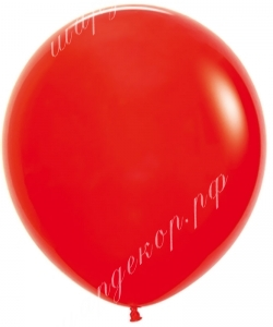 Шар (30''/76 см) Красный