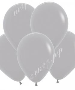 "Шар 12"" (30 см) (081) серый матовый"