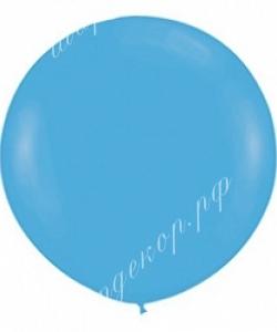 """Шар 36"""" (90 см) голубой"""