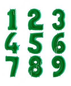 Цифра зеленая