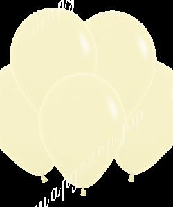 """Шар 12"""" (30 см) (140) светло-желтый"""